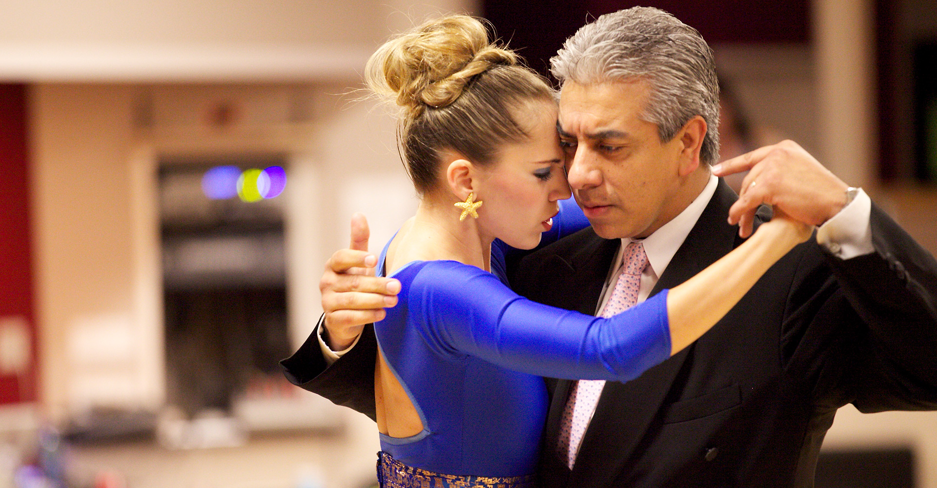 Jorge Torres and Maria Blanco - Dancing Argentine Tango